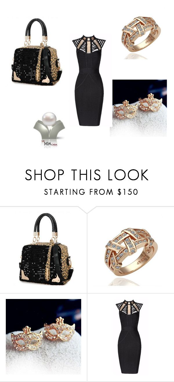 """""""La Mia Cara"""" by seldy-enes ❤ liked on Polyvore featuring Maschera and Posh Girl"""