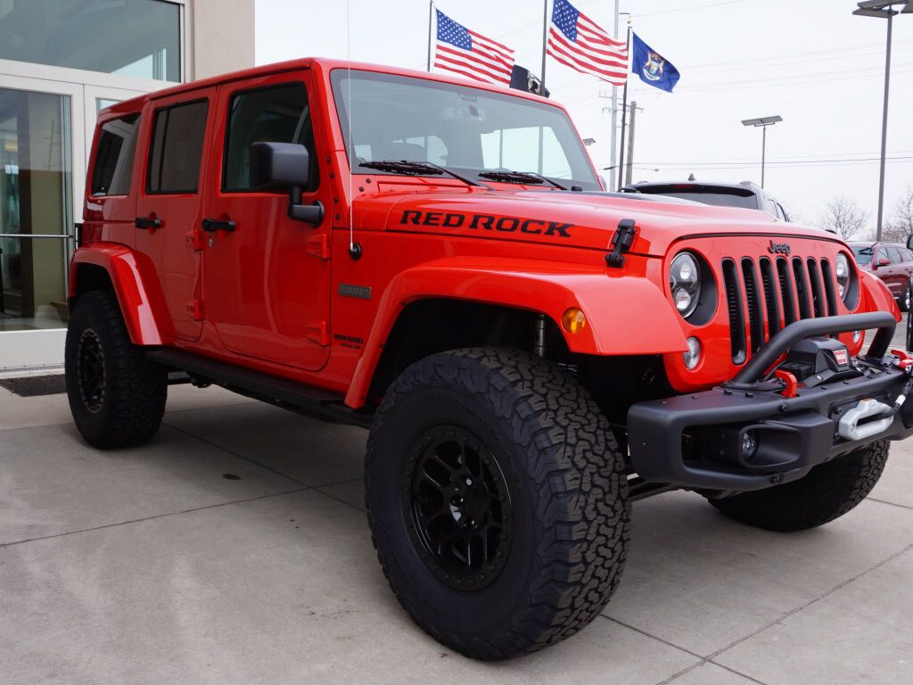 2016 Jeep Wrangler Rubicon Red Rock Jeep Wranglers Pinterest