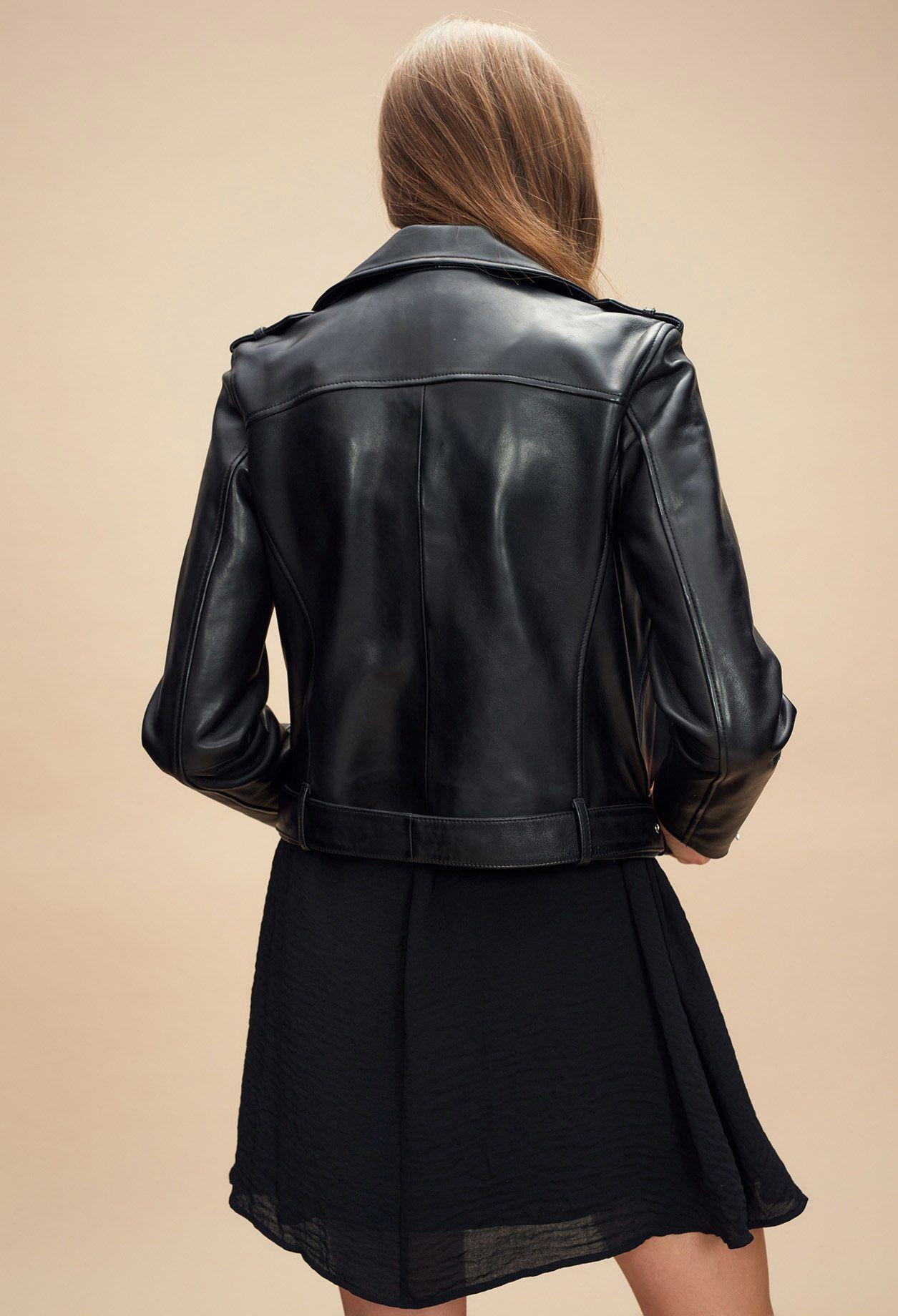 Claudie Fashion Jackets Leather Jacket