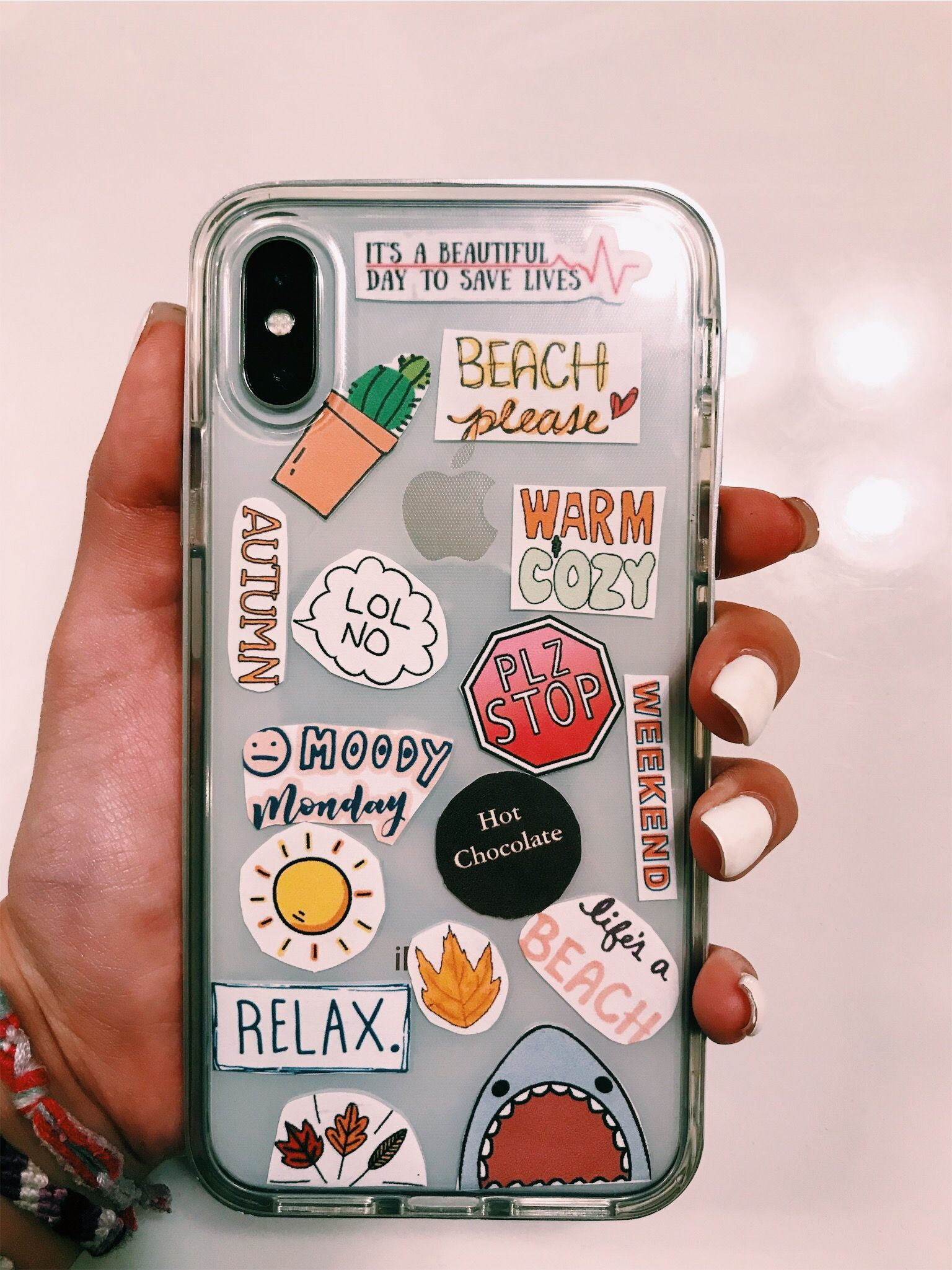 Clear Phone Case Aesthetic
