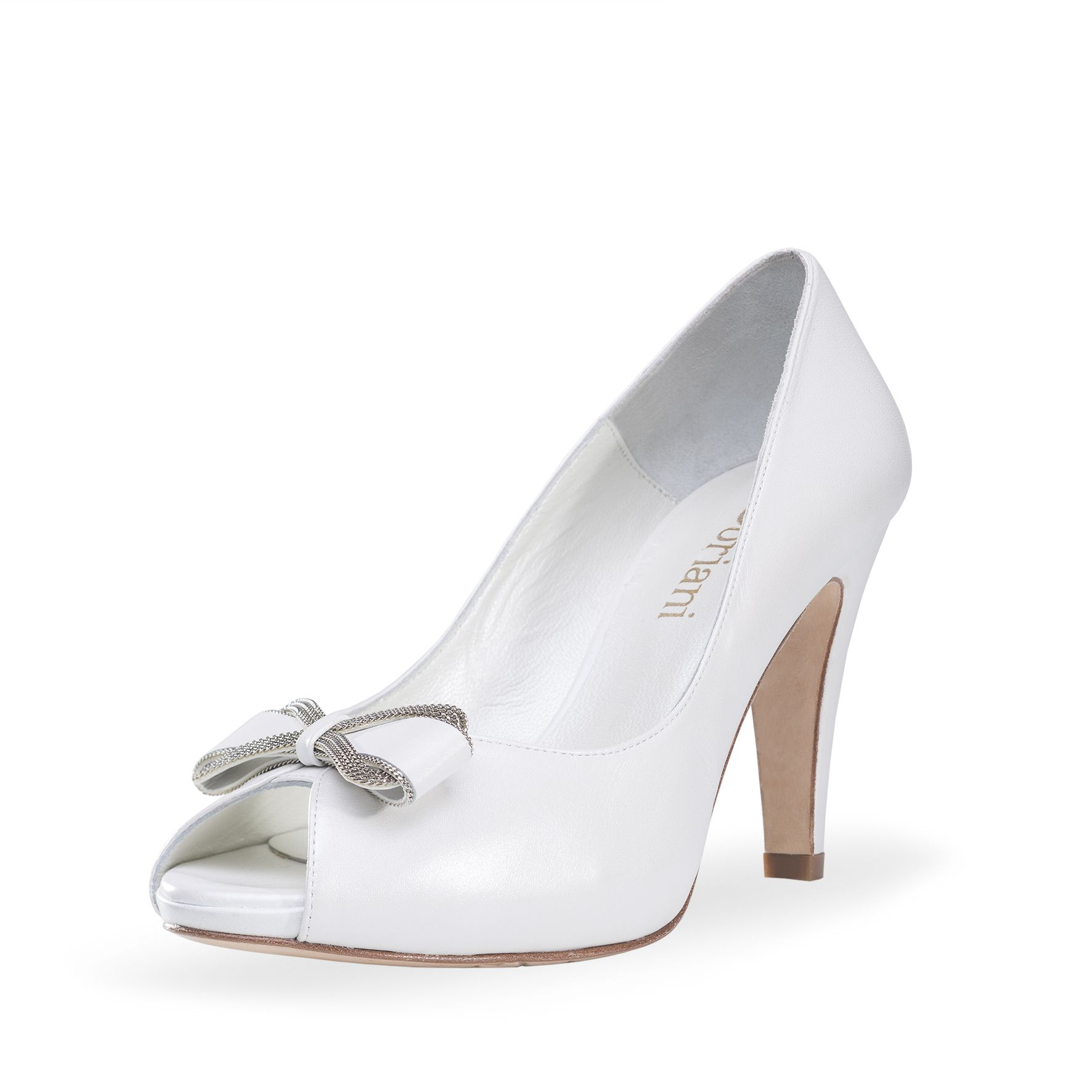 3506 noviaDoriani NOVIA para 8 peep zapato te TkZiOXwPul