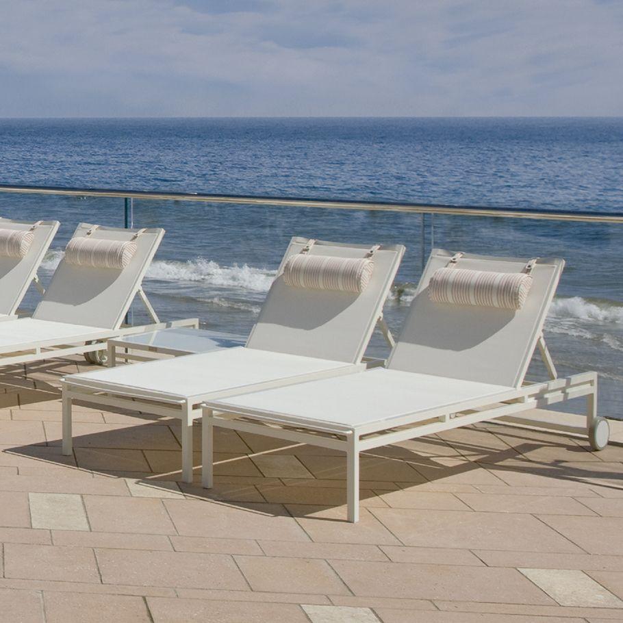 Laszlo Janus Et Cie Chaise Lounge Patio Decor Outdoor