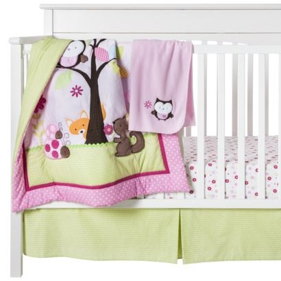 Circo 174 Finnea Baby Girl 4pc Crib Bedding Set I Already