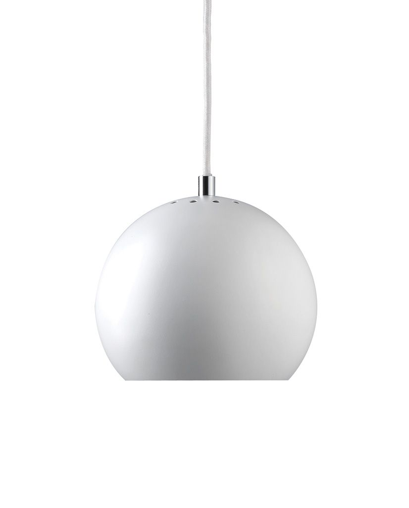 Frandsen Ball Pendel 18 cm Metallic   Designbelysning.no