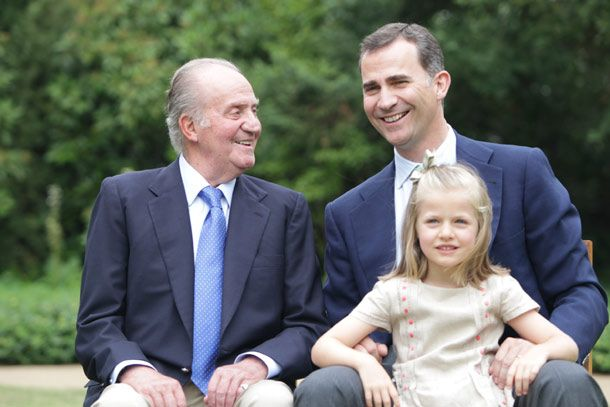 The Spanish King's granddaughter Infanta Leonor becomes the youngest heiress to a European throne