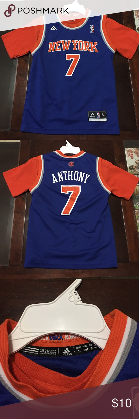buy popular 05c95 d05cb Carmelo Anthony Jersey Small kids In perfect condition 9/10 ...