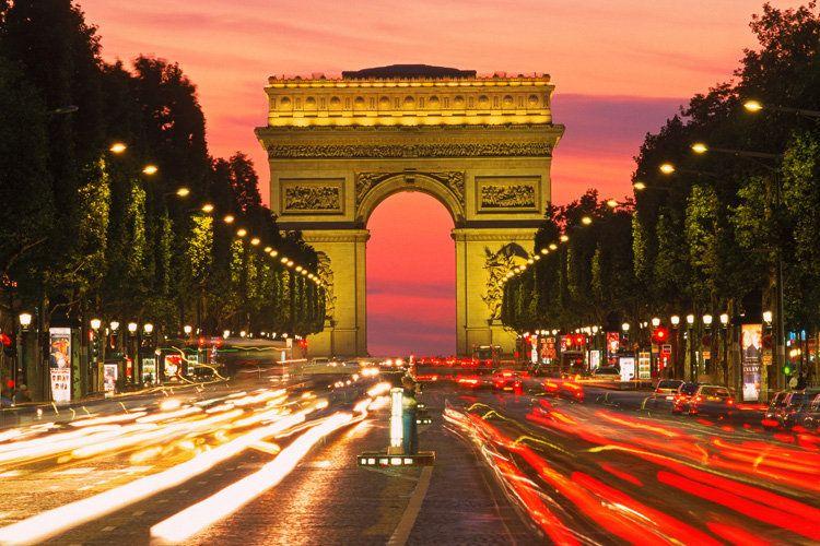 photos of Champs Elysees | Eiffelturm (wie könnte es anders sein) Spaziergang auf der Champs ...