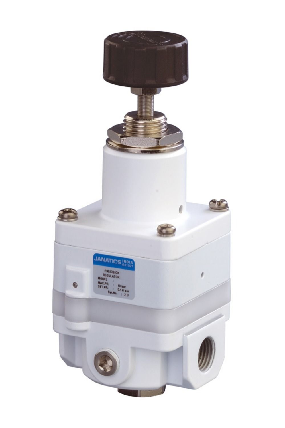 Features of Air Regulators: Conforms to ISO 6953 - 1