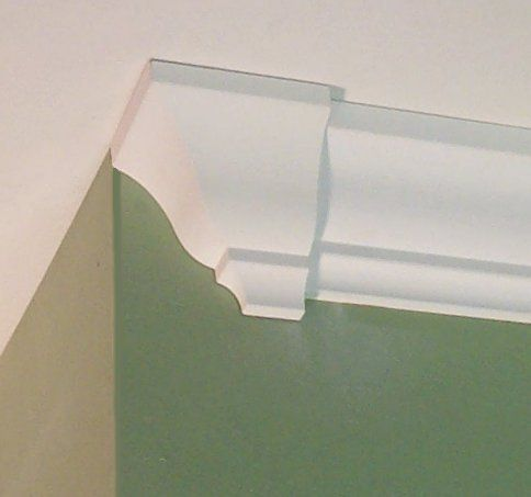 Crown Molding Corners DECO END CAP left or right