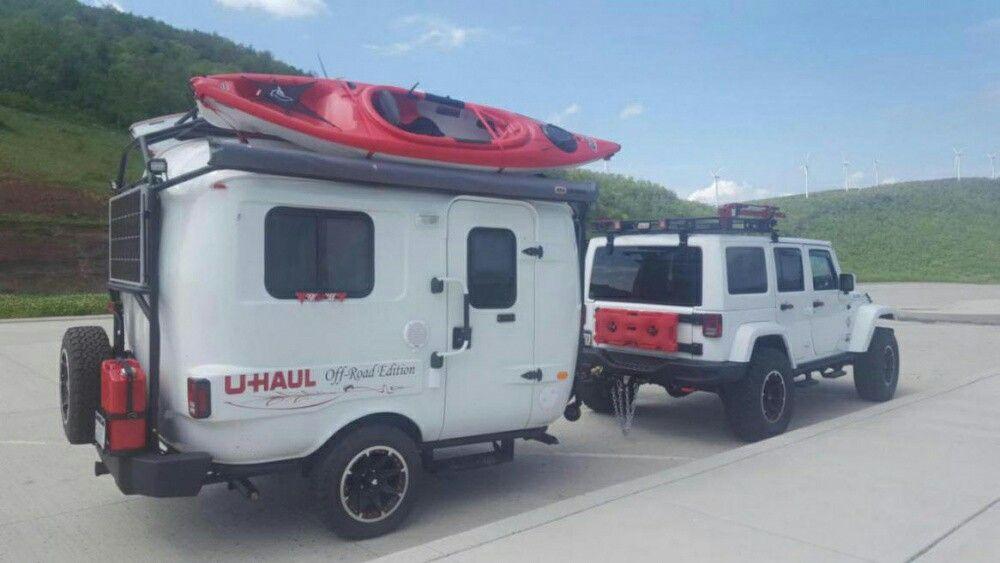 Jeep Uhaul Camper Custom Build