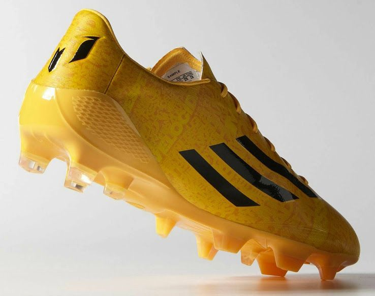 dba4ae351bec Gold Adidas Adizero Messi 14-15 Boot Released - Footy Headlines ...
