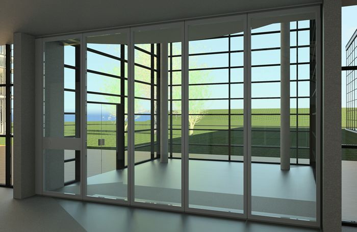 Hufcor Bim Revit Families For Ga Series Acoustical Glass Wall Movable Walls Glass Wall Systems Glass Wall