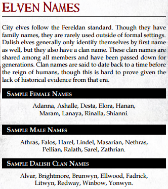 """brood-mother: """" Dragon age qunari, dwarf, and elven names and naming"""