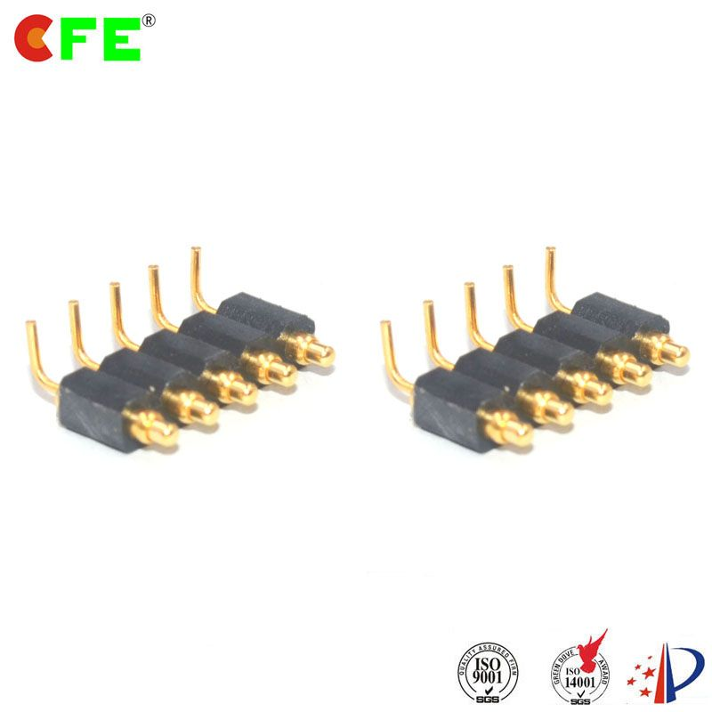 Mp325 111 E05100a Sping Loaded Pogo Pin Right Angle Pcb Connector Connector Pin Angles