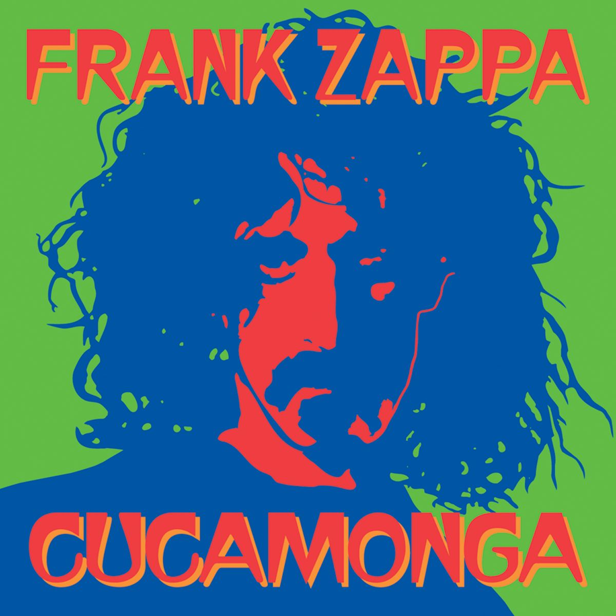 Frank Zappa Quot Cucamonga Quot Cd Cover This Was A Del Fi