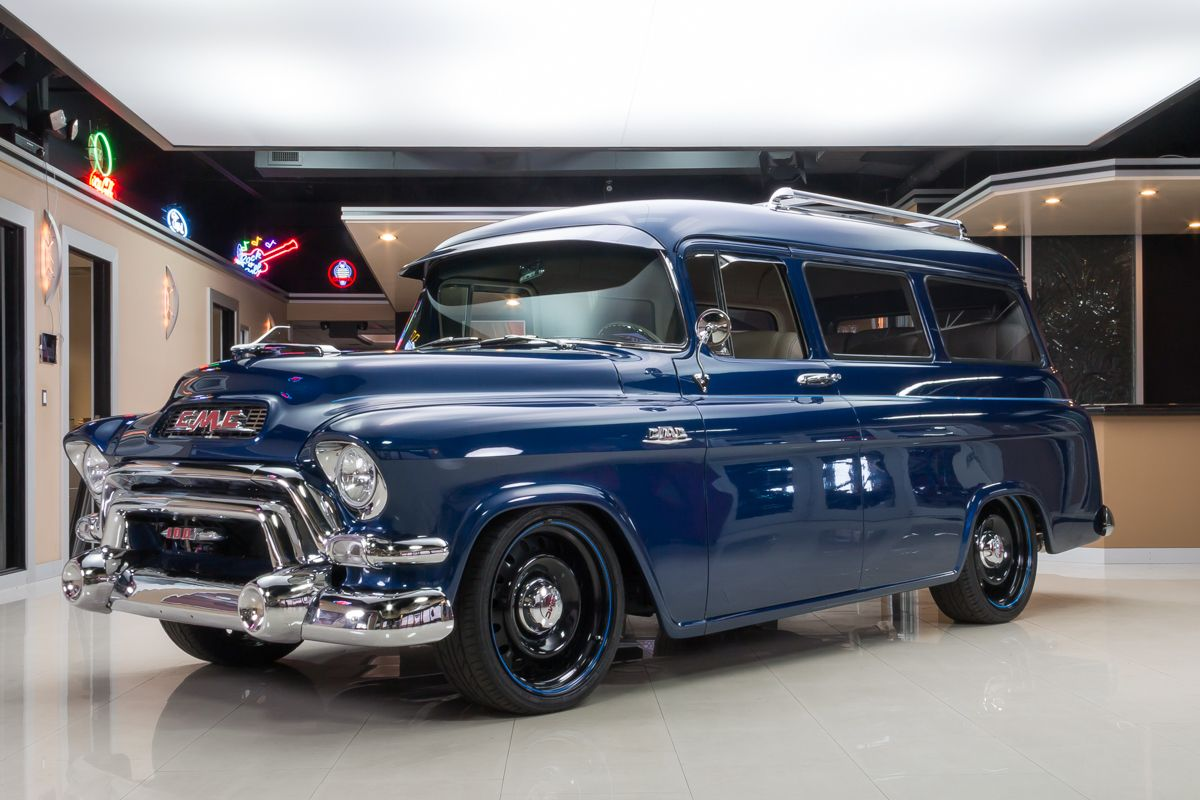 1955 GMC Suburban | Classic Cars for Sale Michigan - Antique Muscle ...