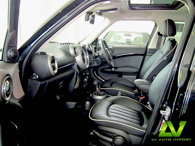 Mini Cooper S Countryman All4 1 6 At Exterior Absolute Black Interior Lounge Carbon Black