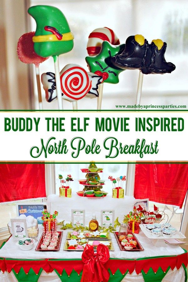 Buddy the Elf Movie Inspired North Pole Breakfast - Made by a Princess #northpolebreakfast
