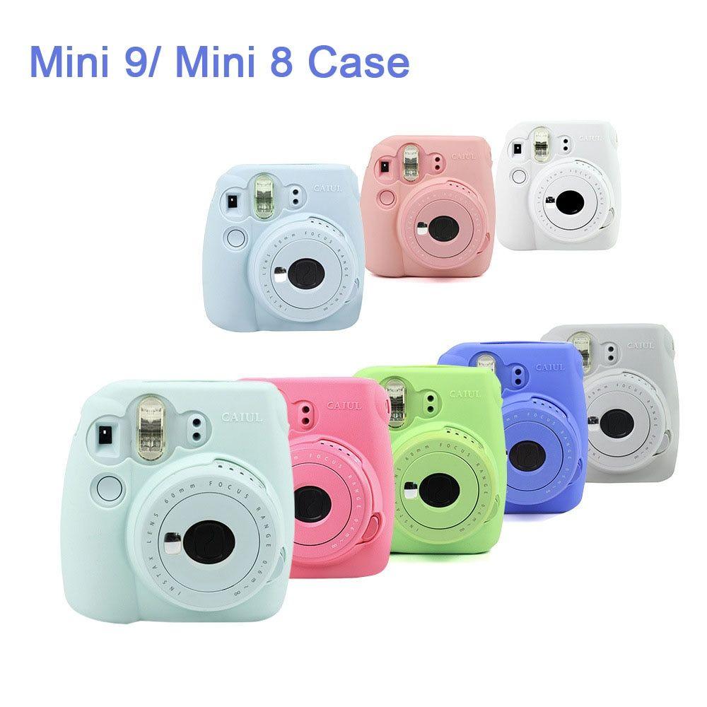 Retro Style For Fujifilm Instax Mini 8//8+//9 Camera Carrying Case Bag Cover Shell