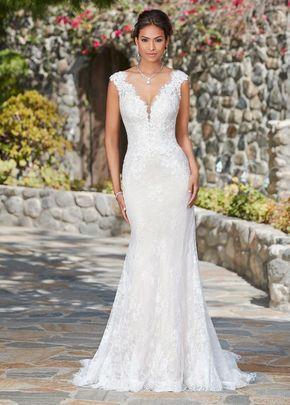 Wedding Dresses Simple, Fabulous Lace V-neck Neckline Natural Waistline Mermaid Wedding Dress With Lace Appliques & Beadings Midi Bridal Uk
