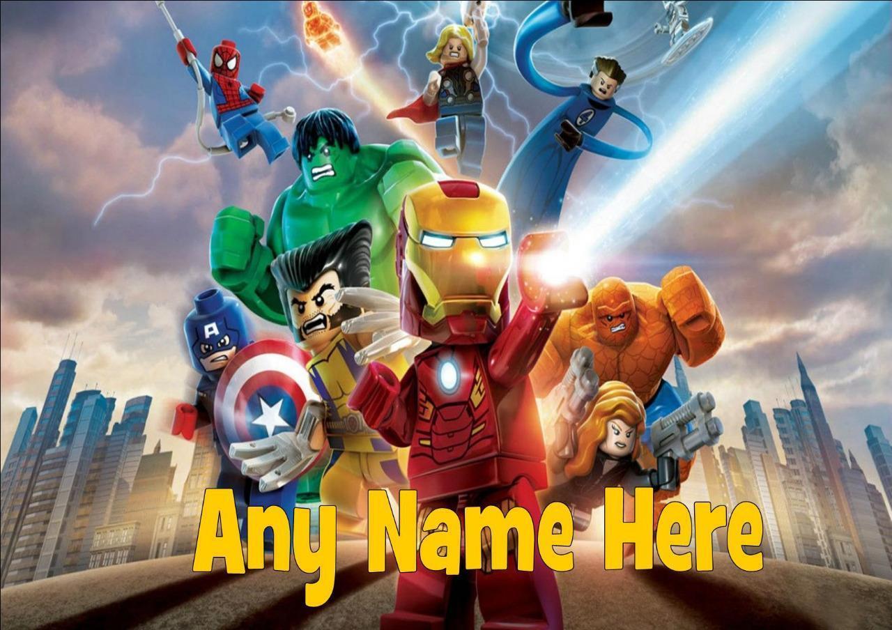 Lego Marvel Superheroes Personalised Placemat Lego Marvel Heroes Marvel Comics Superheroes Lego Marvel