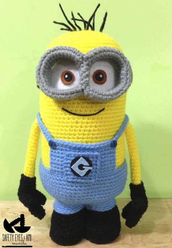 Despicable Me Crochet Minion | Muñecos tejidos | Pinterest | Ganchillo