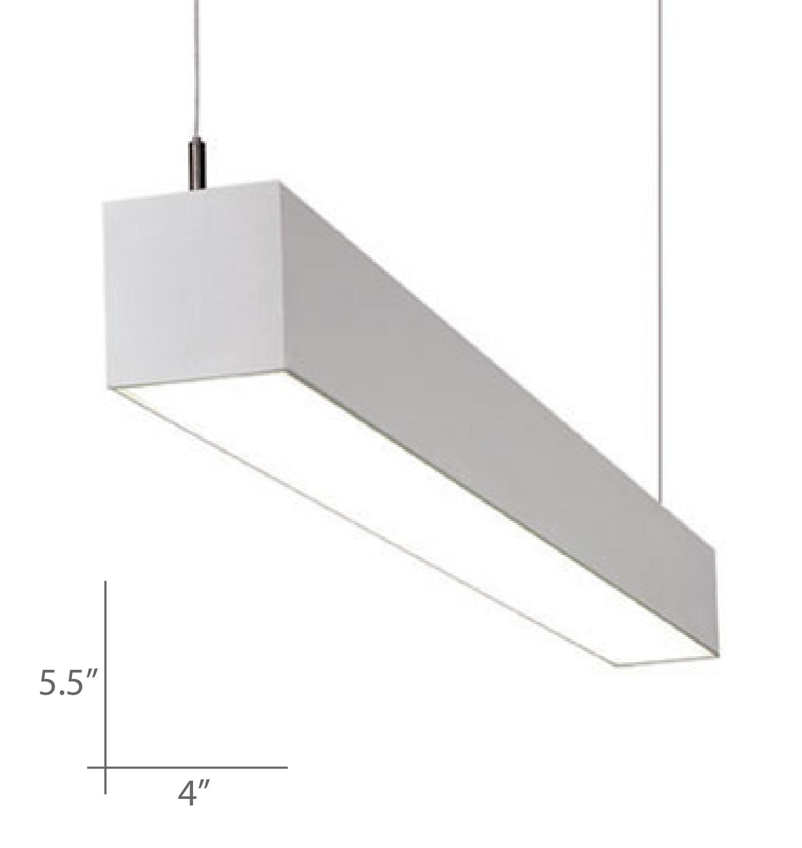 Alcon lighting 12100 45 p continuum 45 series architectural led