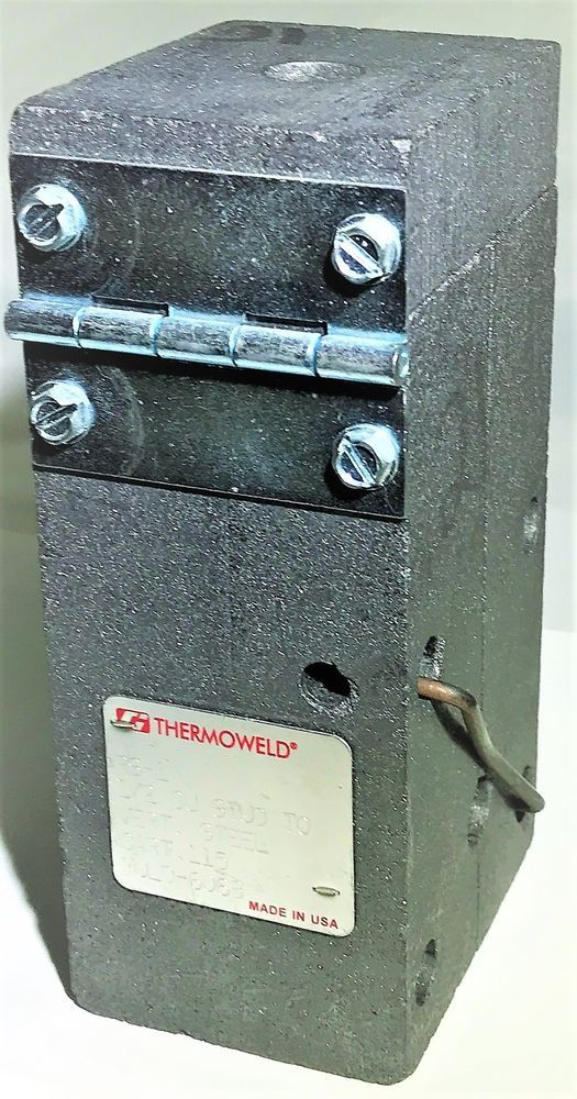 Thermoweld M 6068 Rs 1 Vertical Stud To Steel Welding Mold 1 2 Cu