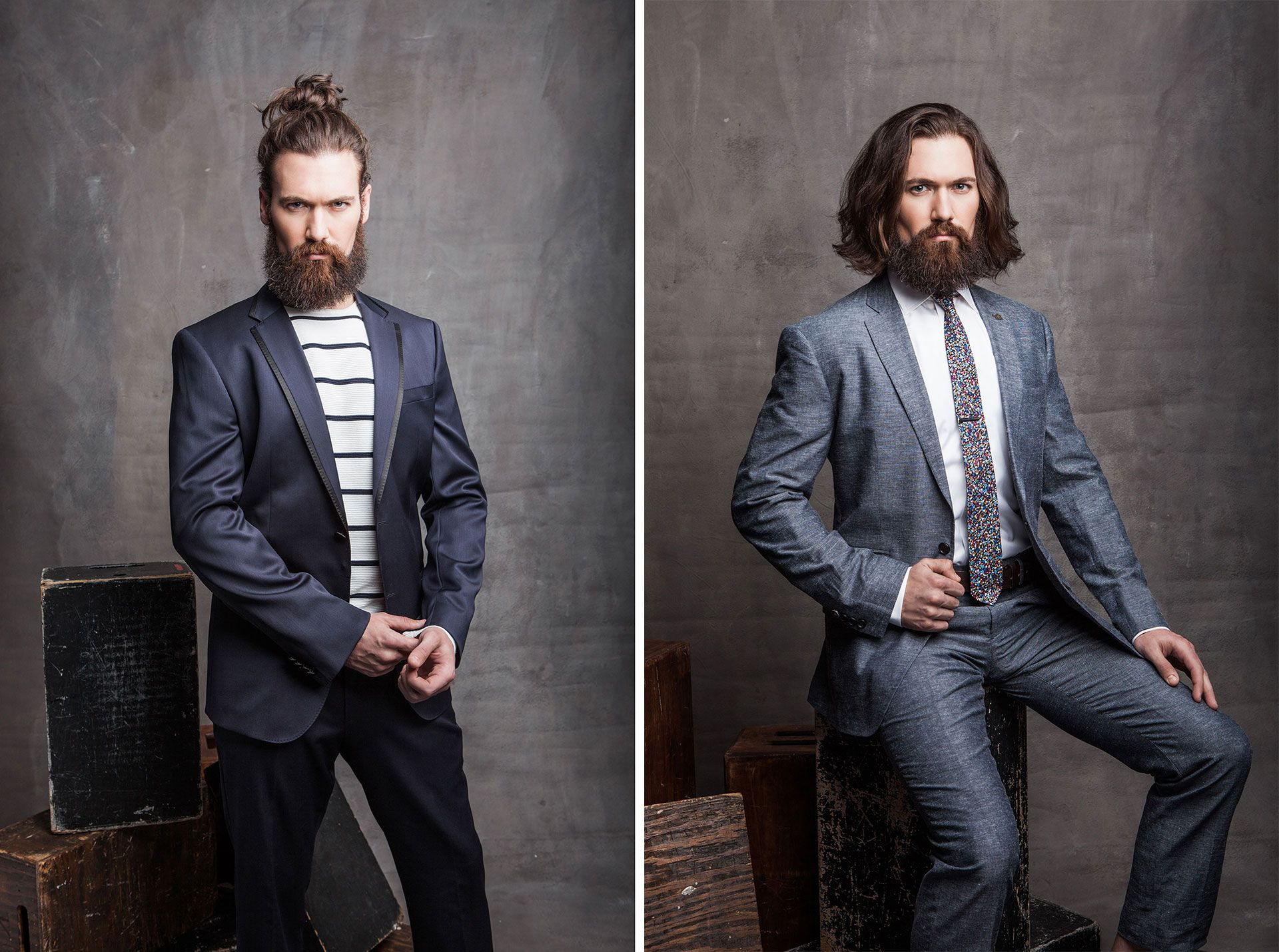 Fabulous 1000 Images About Beards And Suits On Pinterest Short Hairstyles Gunalazisus