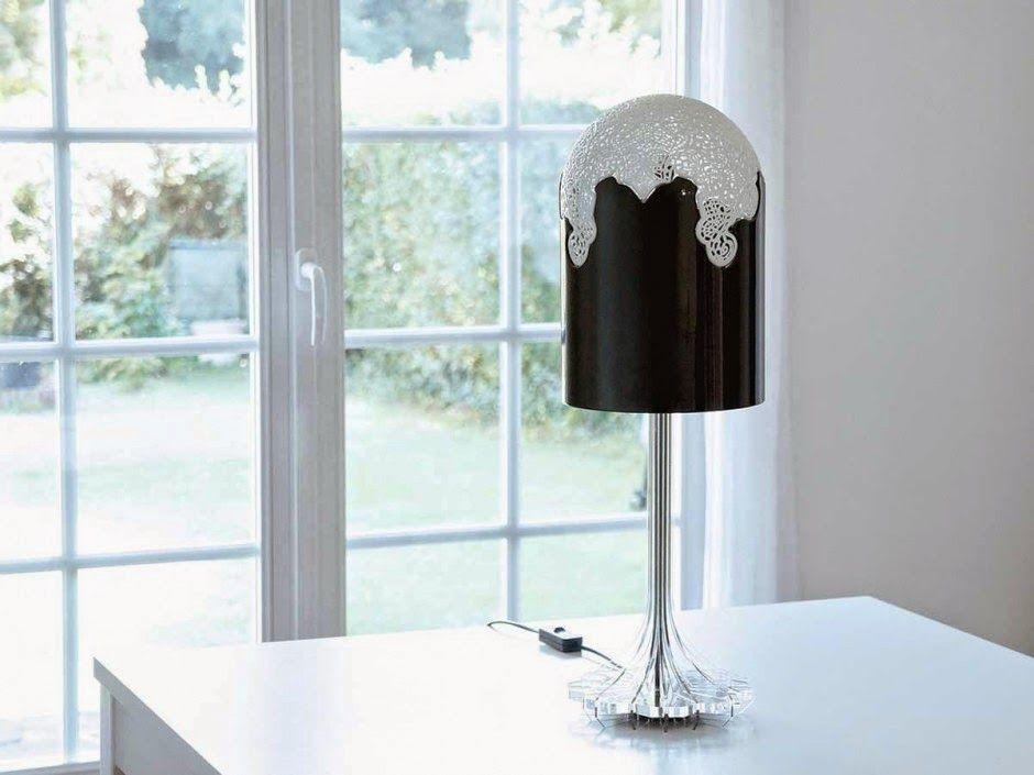 Aydınlatma ve Dekor Dünyasından Gelişmeler: Linlin & Pierre-Yves Jacques'den 3D Lacelamps Aydınlatma Serisi #aydinlatma #lighting #design #tasarim #dekor #decor