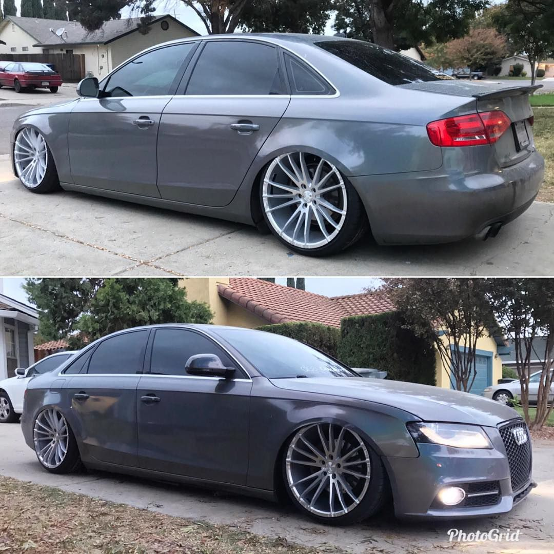 Owner Awd Miggz Audi A4 On Conceptone Csm 001 Available Now Contact Us For More Info 626 968 8913 Info Conceptonewheelsusa Com European Cars Audi A4 Audi