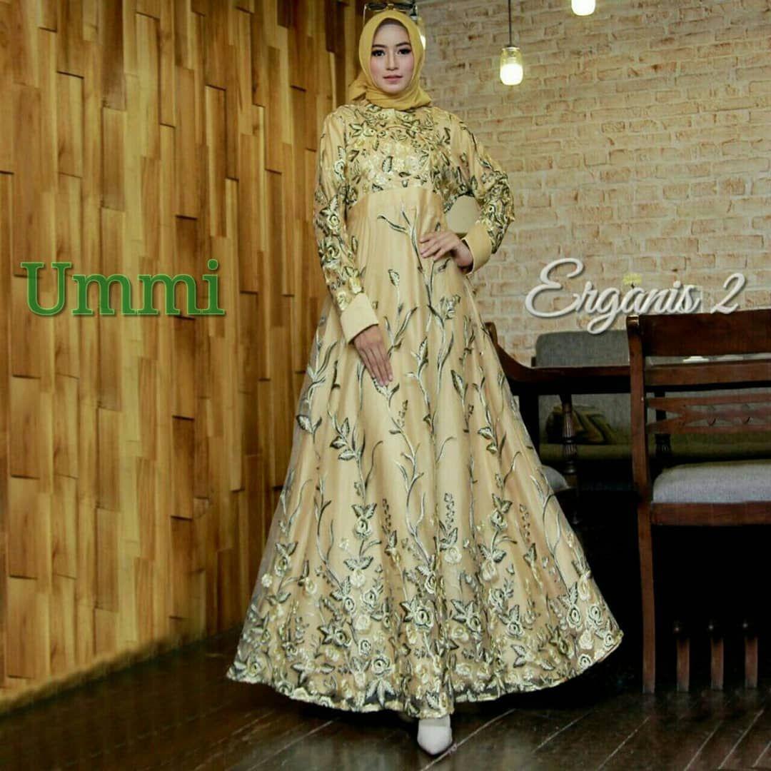 ERGANIS 2 Syari by Ummi Dress Only (geser gambar utk liat