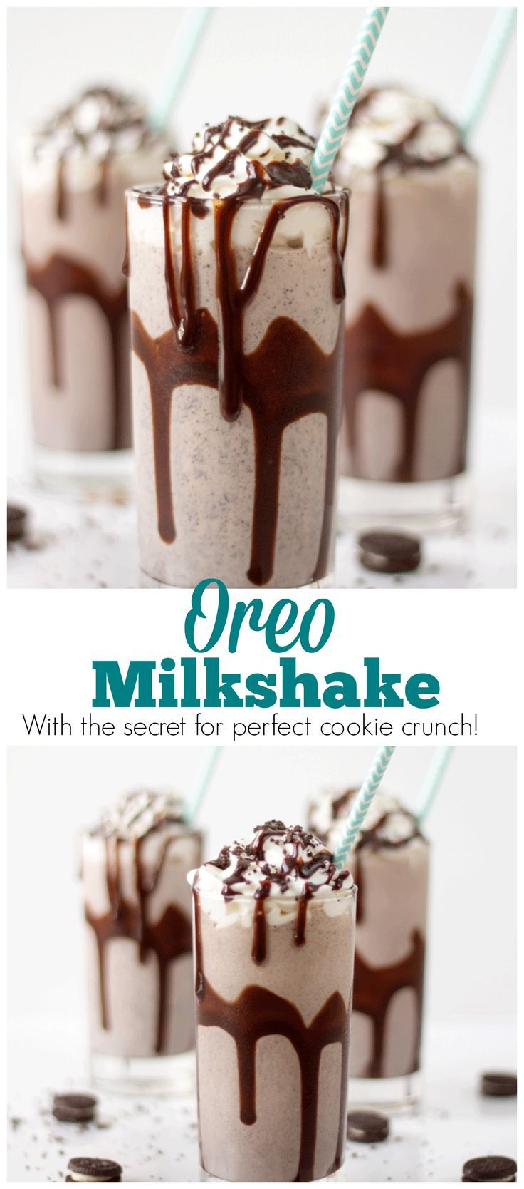 There Is No Need To Get In Your Car And Drive To An Ice Cream Shop To Get An Oreo Milkshake With Thi Oreo Milkshake Oreo Milkshake Recipe Milkshake Recipe Easy