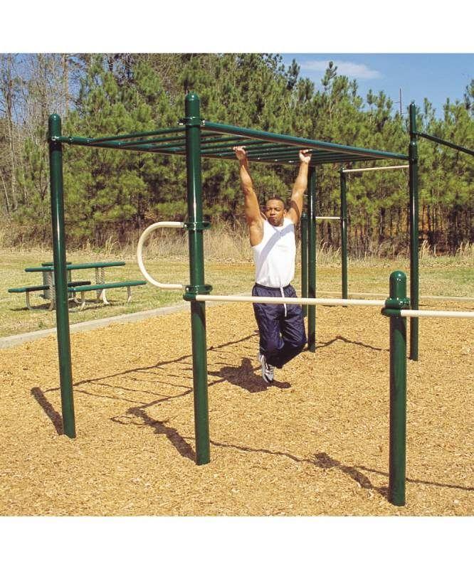 Gentil More Outdoor Gym Equipment.