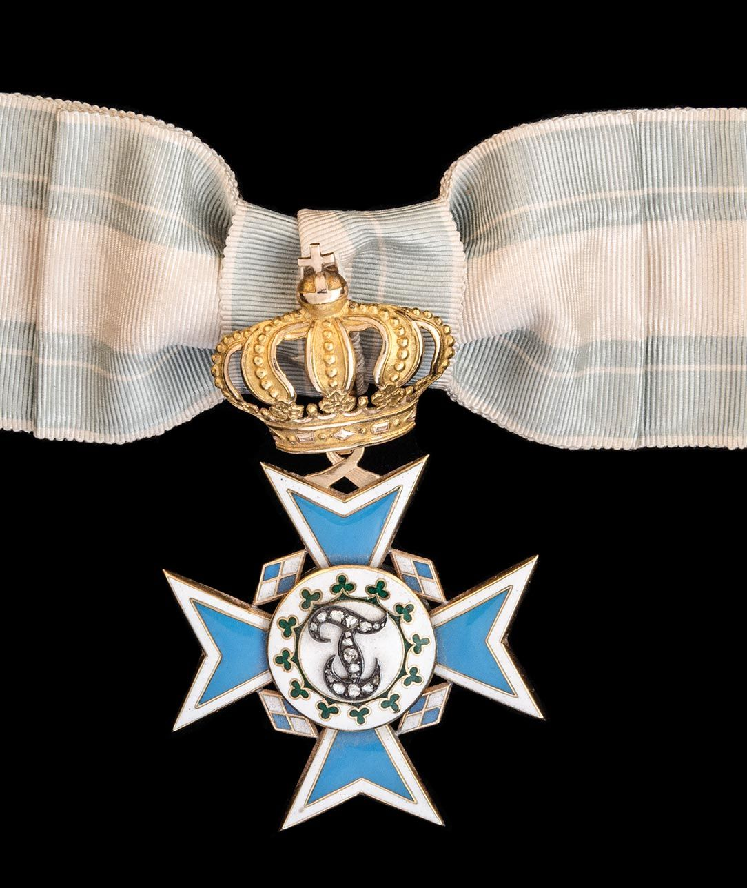 *Germany, Bavaria, Order of Theresa, badge for a Lady of