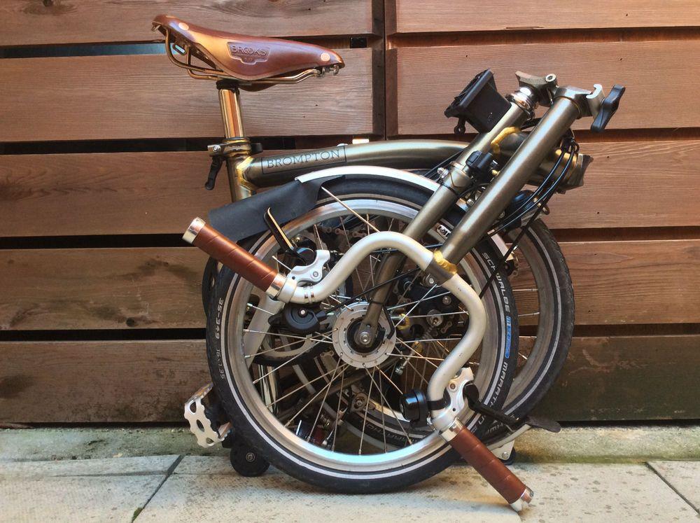 Pin En Brompton Bike