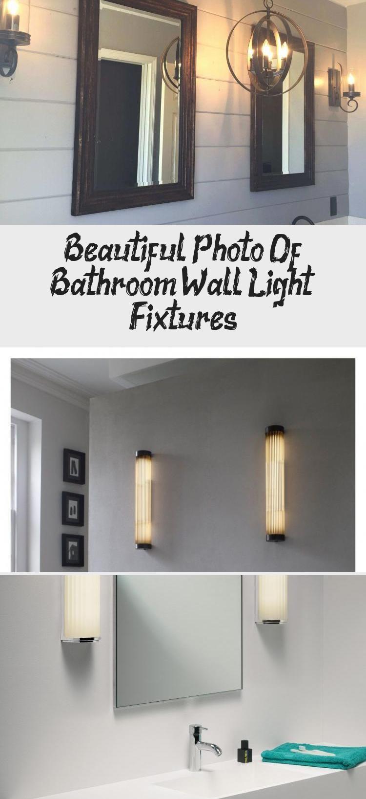 Photo of Beautiful Photo Of Bathroom Wall Light Fixtures – Bathroom