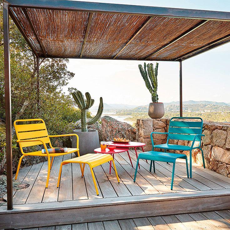 mobilier d co de jardin corse maisons du monde spring 2017 pinterest pergolas and patios. Black Bedroom Furniture Sets. Home Design Ideas