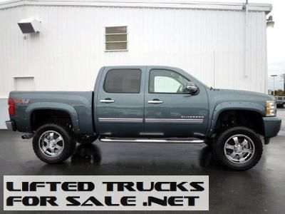 Used 2012 Chevy Silverado 1500 Ltz Z92 Lifted Truck Lifted Chevy