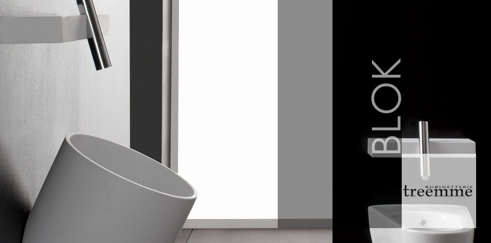 Bäderdesign  Armaturenserie Blok | Designer: Giancarlo Vegni | Treemme ...