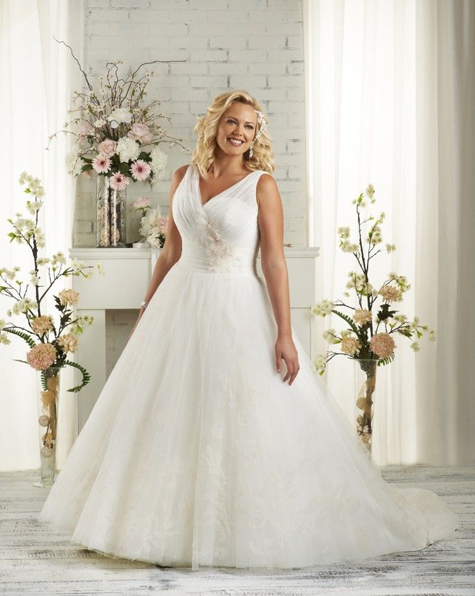 Plus Size Bridal Design At Its Best To Flatter Your Figure Style