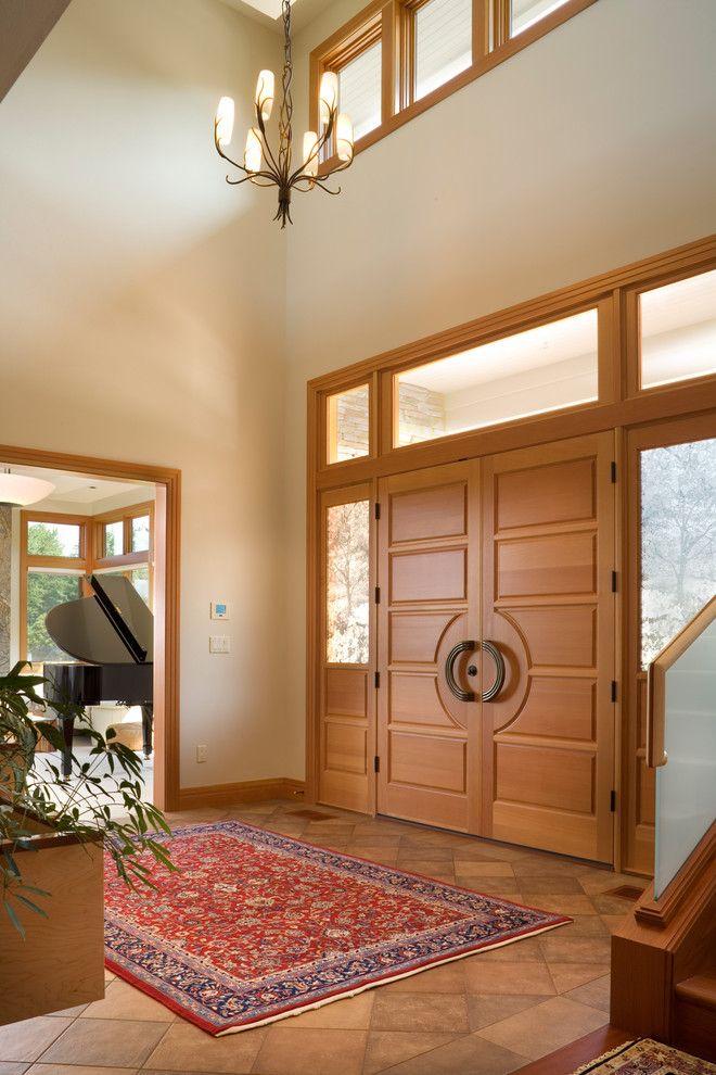 Luxurious House Door Design Carpet Glass Wood Hanging Chandelier Piano Plant Wooden Door Luxury Home Door Design Door Design Modern Door Design Interior
