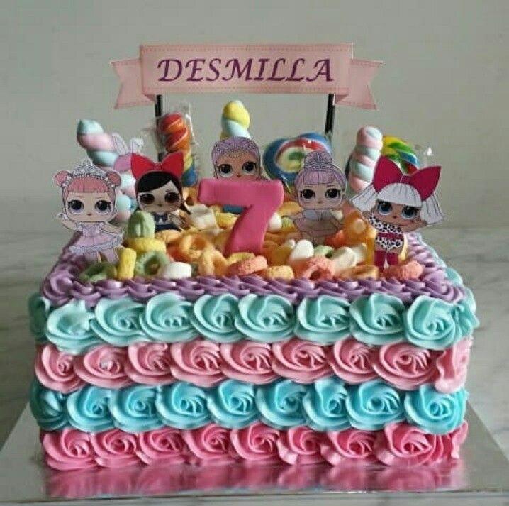 Lol Surprise Birthday Party Lol Surprise Cake Lol