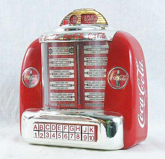 Coca Cola Bathroom Decor: Retro Coke Coca Cola Diner Jukebox Musical By