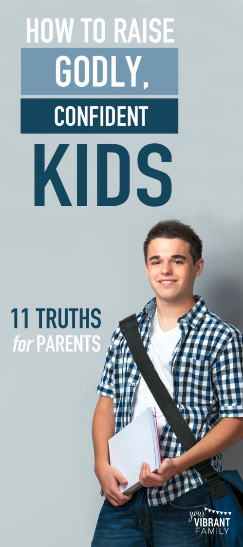 Photo of As Christian parents we want to raise confident kids who make the right choices….