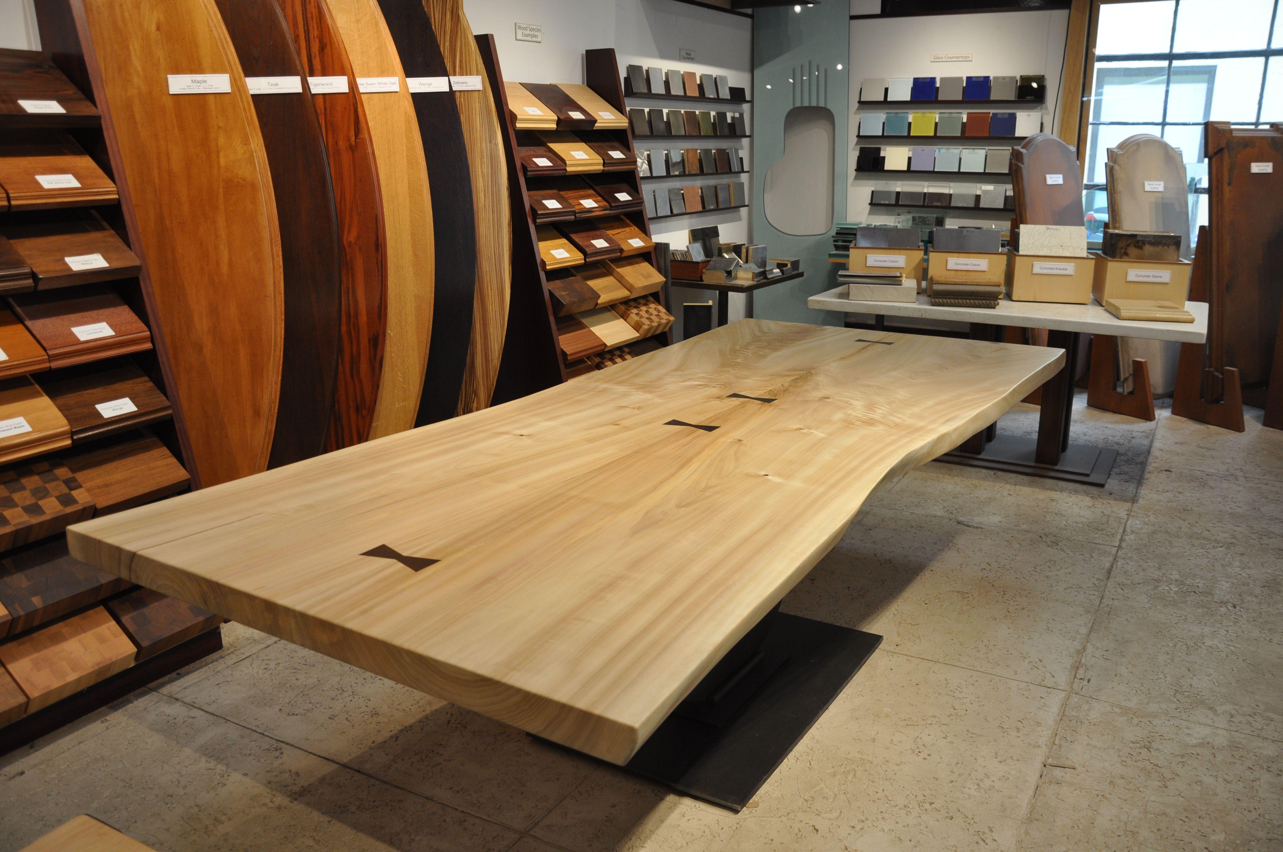 Cotton Wood Live Edge   Brooks Custom Liveedgewoodcountertops.com # Cottonwood #liveedge #diningroom #table #furniture
