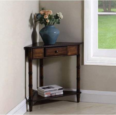 Home In 2020 Corner Accent Table Rustic Side Table Entry Table