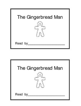 picture about Gingerbread Man Printable Book named The Gingerbread Guy Reserve Absolutely free December Instruction Programs