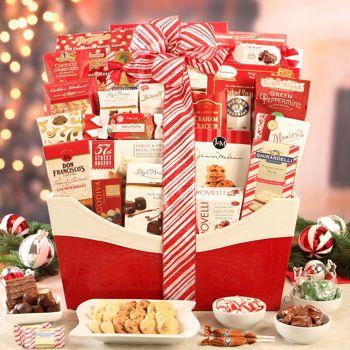 costco santas helper holiday gift basket