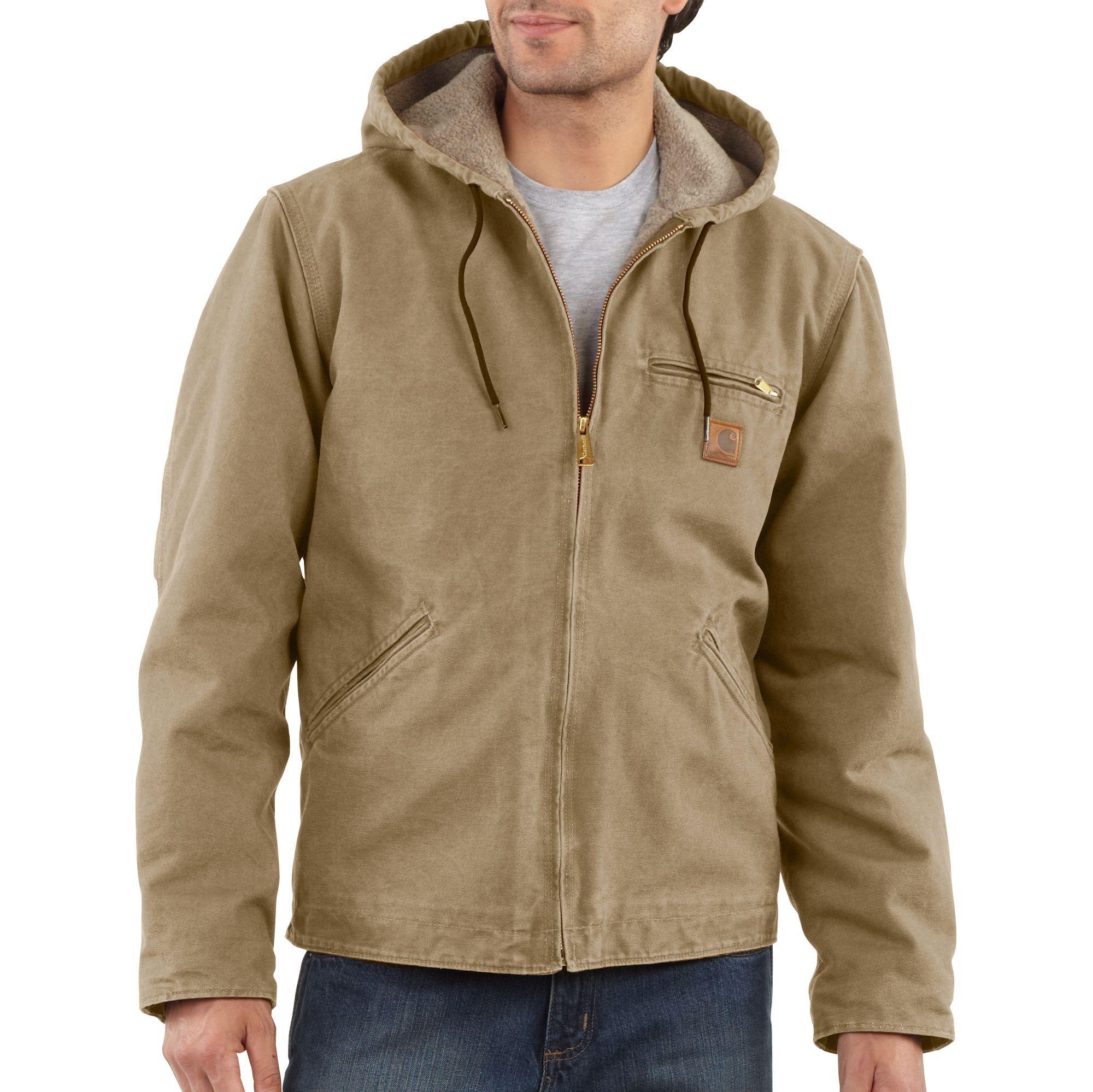 Carhartt Mens Sierra Jacket J141 Cottonwood | Carhartt